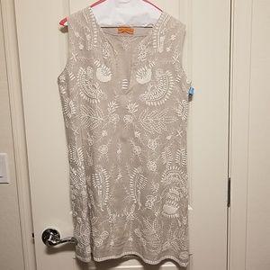 Roberta Freymann embroidered blouse